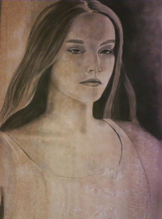 Ruslana Korshunova by edwood.zero